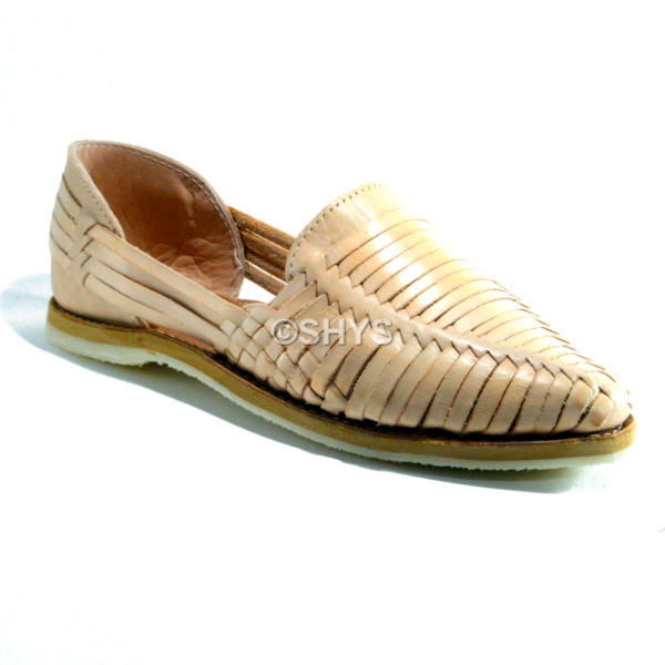 zapatos artesanales natural